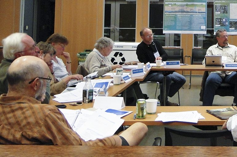 Meeting of the Reclaimed Water Infiltration Study advisory group