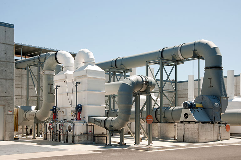 Air handling equipment is part of the complex wastewater system covered by LOTT's rates and fees