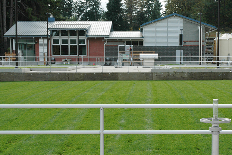 The Martin Way Reclaimed Water Plant located in Lacey, Washington