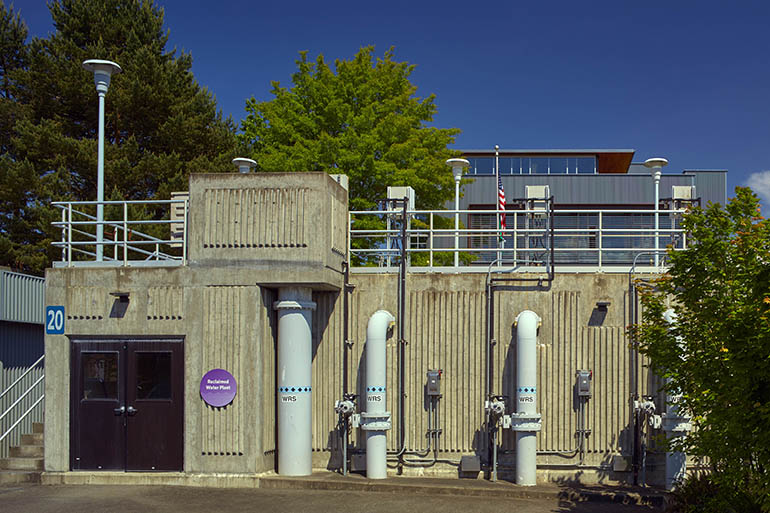 Budd Inlet Reclaimed Water Plant in downtown Olympia